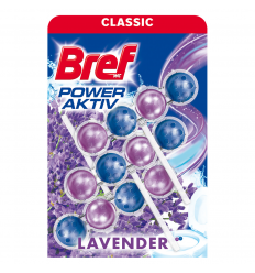 WC ZIEPES BREF POWER ACTIVE LAVENDER, 3 X 50 G