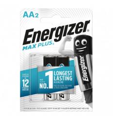 BATERIJAS ENERGIZER MAX PLUS AA, LR06, 2 GAB.
