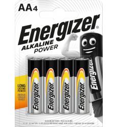 BATERIJAS ENERGIZER AA, LR06, 4 GAB.