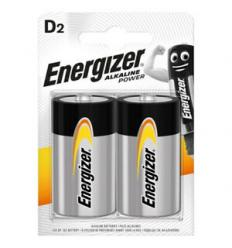 BATERIJAS ENERGIZER D, LR20, 2 GAB.