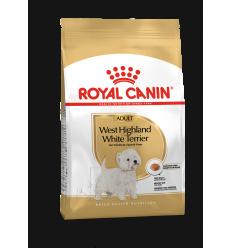 ROYAL CANIN BHN 0,5KG WESTHIGHLAND WHITE TERRIER ADULT SUŅIEM