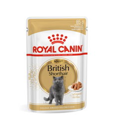 ROYAL CANIN FBN WET 85G BRITISH SHORTHAIR KAĶIEM