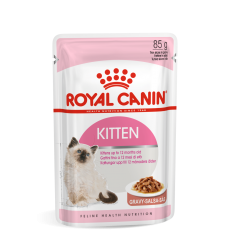 ROYAL CANIN FHN WET 85G KITTEN INSTINCTIVE IN GRAVY KAĶĒNIEM