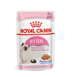 ROYAL CANIN FHN WET 85Gx12 KITTEN INSTINCTIVE IN JELLY KAĶĒNIEM