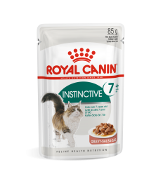ROYAL CANIN FHN WET 85G INSTINCTIVE +7 IN GRAVY KAĶIEM