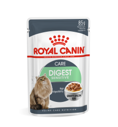 ROYAL CANIN FCN WET 85G DIGEST SENSITIVE IN GRAVY KAĶIEM