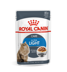 ROYAL CANIN FCN WET 85G ULTRA LIGHT IN GRAVY KAĶIEM
