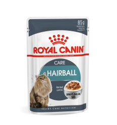 ROYAL CANIN FCN WET 85Gx12 HAIRBALL CARE IN GRAVY KAĶIEM
