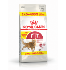 ROYAL CANIN FHN FIT32 PC 2KG+400G FREE KAĶIEM