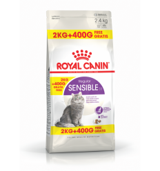 ROYAL CANIN FHN SENSIBLE PC 2KG+400G FREE KAĶIEM