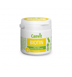 CANVIT BIOTIN TABLETS N100 100G KAĶIEM