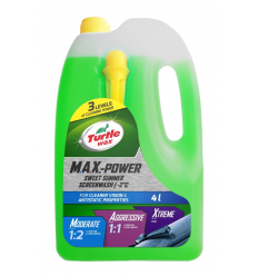 TURTLE WAX SUMMER SCREENWASH 4L MAXPOWER -2°C