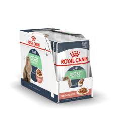 ROYAL CANIN FCN WET 85Gx12 DIGEST SENSITIVE IN GRAVY KAĶIEM