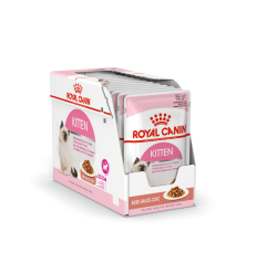 ROYAL CANIN FHN WET 85Gx12 KITTEN INSTINCTIVE IN GRAVY KAĶĒNIEM
