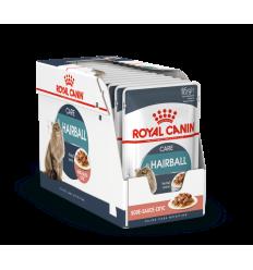 ROYAL CANIN FCN WET 85Gx12 HAIRBALL CARE IN GRAVY KAĶIEM