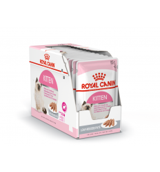 ROYAL CANIN FHN WET 85Gx12 KITTEN INSTINCTIVE LOAF KAĶĒNIEM