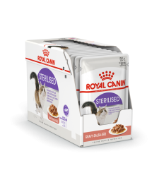 ROYAL CANIN FHN WET 85Gx12 STERILISED IN GRAVY KAĶIEM