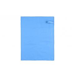 CEĻOJUMA DVIELIS 602970 80X130CM ZILS