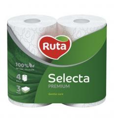 TUALETES PAPĪRS 4RUĻ. 3SL. RUTA SELECTA