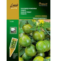 TOMĀTI GREEN ZEBRA