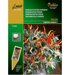 dekoratīvie pipari SALSA