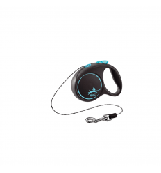 PAVADA FLEXI FL-03323 BLACK DESIGN XS BLUE 3M 8KG