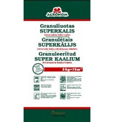 AGRONOM GRANULĒTAIS SUPERKĀLIJS 3 KG
