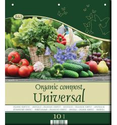 ORGANISKAIS KOMPOSTS UNIVERSĀLAIS 10 L
