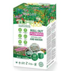 PUĶES TEKSTILĀ WILD FLOWERS 5 M²